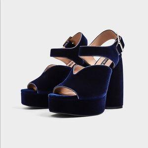 Zara platform heels